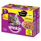 Whiskas 7+ Ragout Menuboks, Fjerkræ i gelé