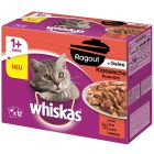 Whiskas Ragout -säästöpakkaus 48 x 85 g