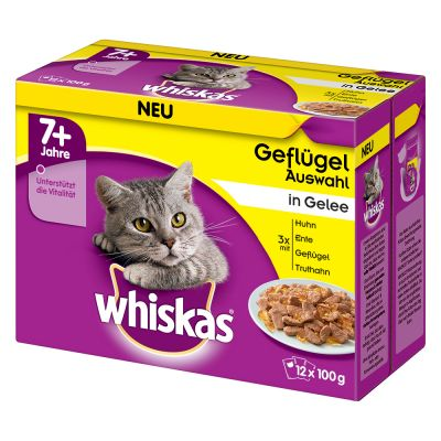 Whiskas 7+ Senior buste 12 x 100 g