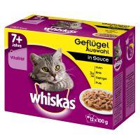 Whiskas 7+ Senior multipack 12 x 100 g