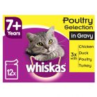 Whiskas 7+ Senior Porsjonsposer 12 x 100/85 g