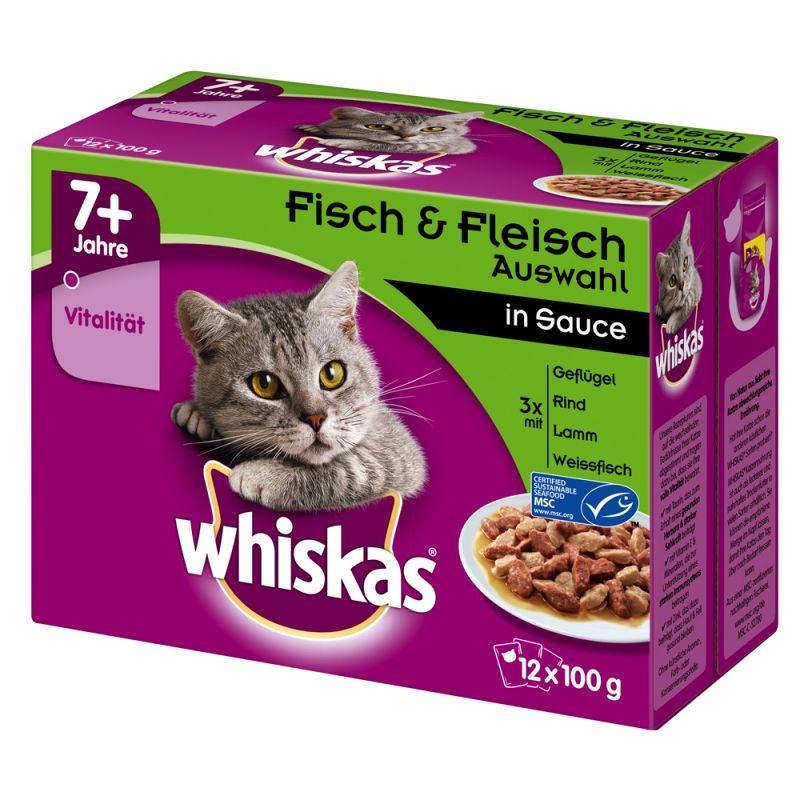 Whiskas Senior 7+ portionspåse 12 x 85 / 100 g