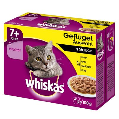 Whiskas 7+ Senior Pouches
