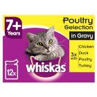 Whiskas 7+ Senior Pouches in Gravy