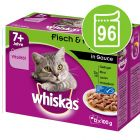 Whiskas 7+ Senior Pouches 96 x 100 / 85 g