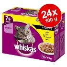 Whiskas Senior 7+ saszetki, 24 x 100 g