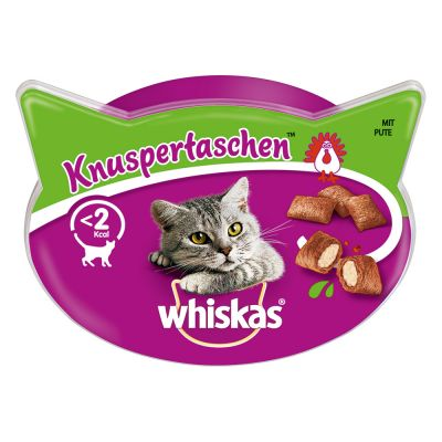 Whiskas Snacks para gatos en oferta: 2 + 1 ¡gratis!