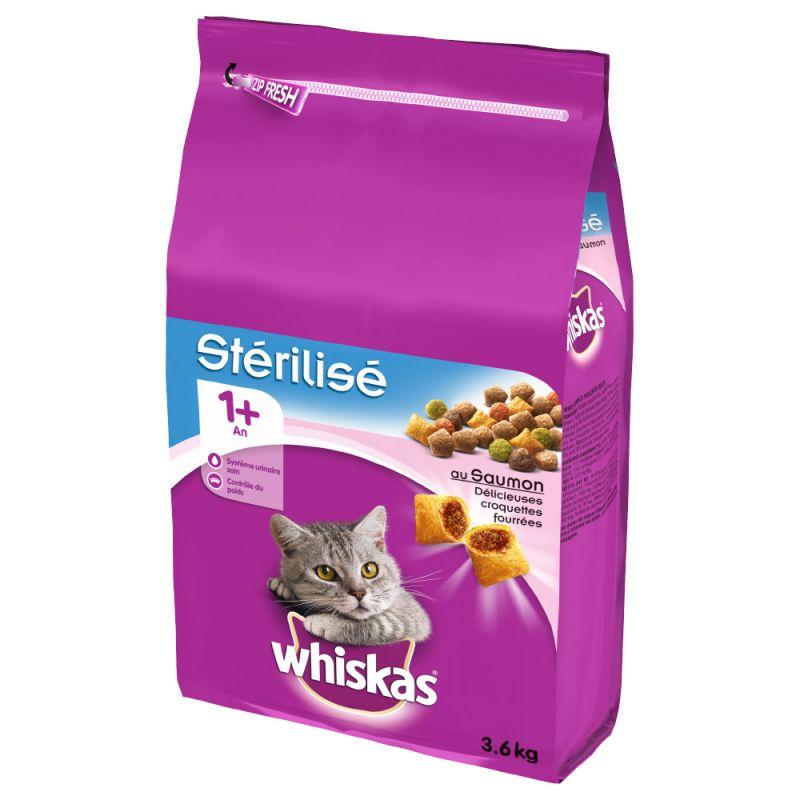 Whiskas 1+ Sterile Salmon
