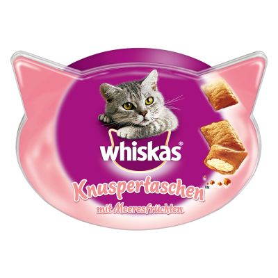 Whiskas Temptations + 20% di snack in più!