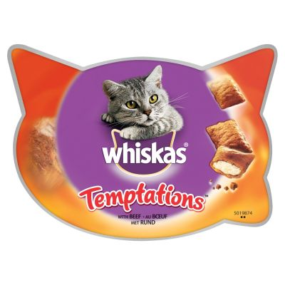 Whiskas Temptations 72g