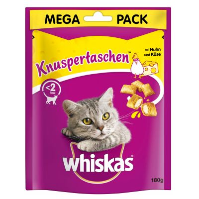 Whiskas Temptations Mega Pack 180g