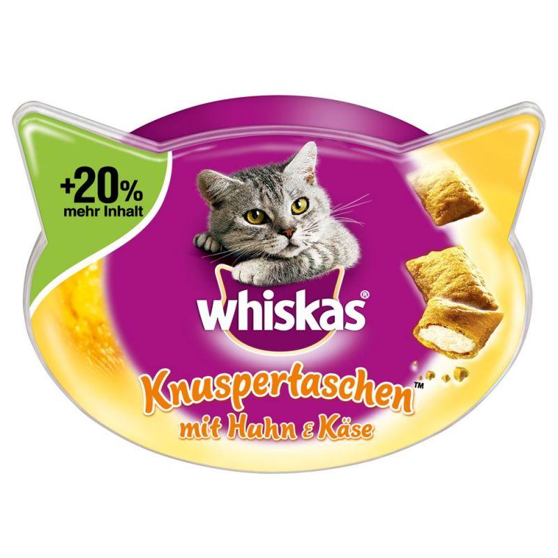 Whiskas Temptations - ropogós falatok + 20%-kal több tartalom