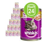 Whiskas 1+ в банках 24 x 400 г