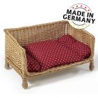 Wiklinowa sofa dla psa Aumüller