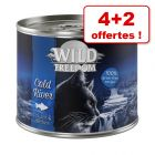 Wild Freedom Adult 4 + 2 offertes ! : 200 / 400 g pour chat