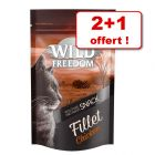 Wild Freedom Filets 2 x 100 g + 1 offert !