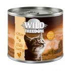 Wild Freedom Kitten Wide Country pour chat, veau & poulet