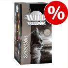 Wild Freedom Adult -rasiat 6 x 85 g erikoishintaan!