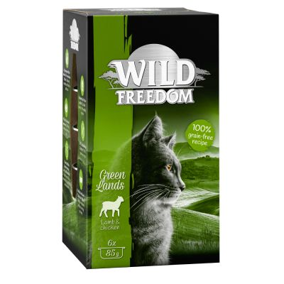 Wild Freedom Adult, tacki, 6 x 85 g