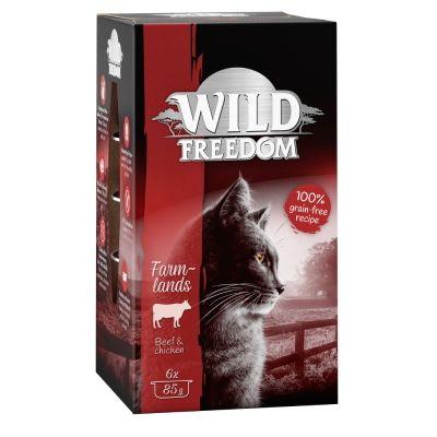 Wild Freedom Adult Trays 6 x 85g