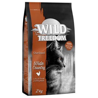 Wild Freedom Adult Wide Country Sterilised - Poultry