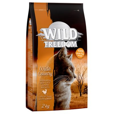 Wild Freedom Adult Wide Country, volaille pour chat