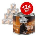Икономична опаковка Wild Freedom Adult 12 x 200 г