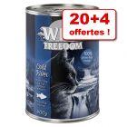 Wild Freedom Adult 20 x 400 g + 4 boîtes offertes !