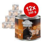 Wild Freedom Adult 12 x 200 g en latas - Pack Ahorro
