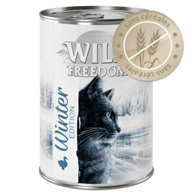 Wild Freedom Édition d'hiver 6 x 400 g