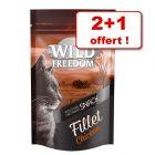 Wild Freedom Filets 2 x 100 g + 1 offert !