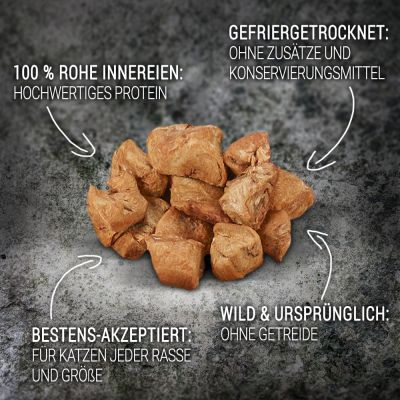 Wild Freedom Freeze-Dried Snacks Kippenharten