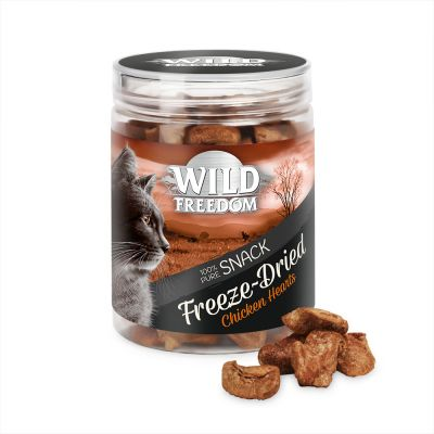 Wild Freedom Freeze-Dried Snacks, serca kurze