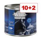 Wild Freedom kissanruoka 12 x 200 g: 10 + 2 kaupan päälle!