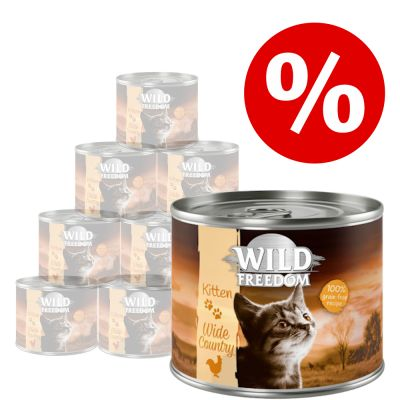 Wild Freedom Kitten lattine 12 x 200 g