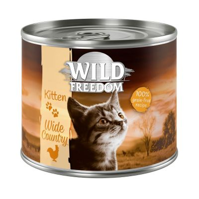 Wild Freedom Kitten Mixed Trial Pack