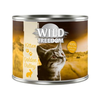Wild Freedom Kitten Saver Pack 12 x 200g