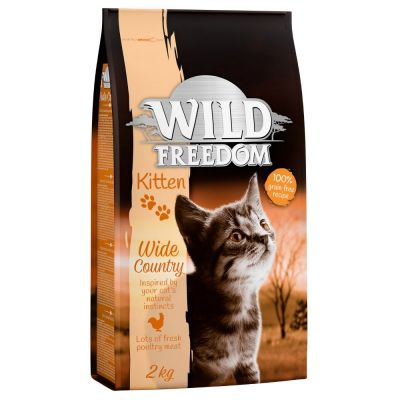 Wild Freedom Kitten Wide Country со вкусом птицы