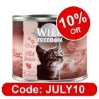 Wild Freedom Kitten 6 x 200g