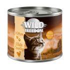 Wild Freedom Kitten 6 x 200 g en latas