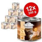 Wild Freedom Kitten 12 x 200 g en latas - Pack Ahorro