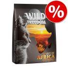 Wild Freedom -kuivaruoka 400 g kokeiluhintaan!