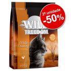 Wild Freedom ração 2 x 400 g em promoção: 2ª unidade com 50 % de desconto