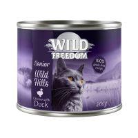 Wild Freedom Senior Wild Hills canard, poulet pour chat