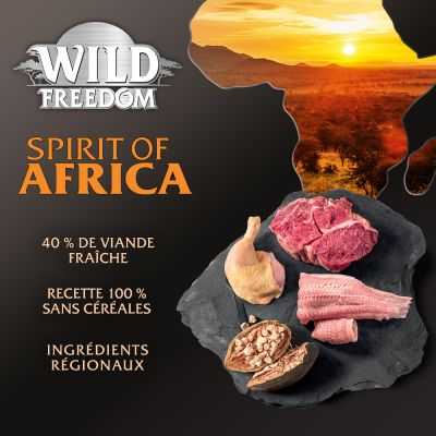 Wild Freedom Spirit of Africa pour chat