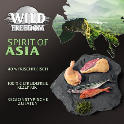 Wild Freedom Spirit of Asia pour chat