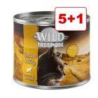 Wild Freedom 6 x 200 g: 5 + 1 kaupan päälle!