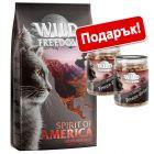 2 кг Wild Freedom суха храна + 2 x 60 г Wild Freedom лакомства