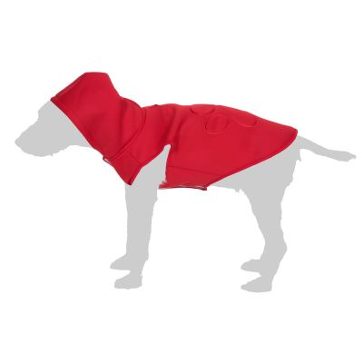 Windbreaker Dog Coat - Red