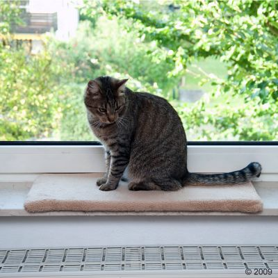 Window Sill Mat Plush - Light Beige